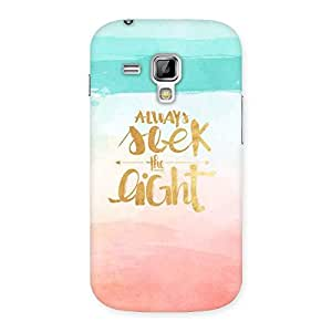 Always Sleek Back Case Cover for Galaxy S Duos