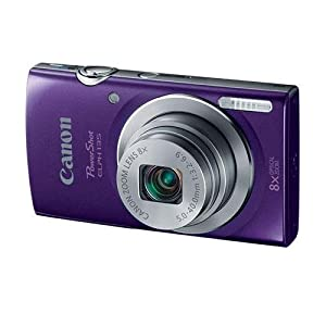 Canon PowerShot ELPH135 Digital Camera (Purple)