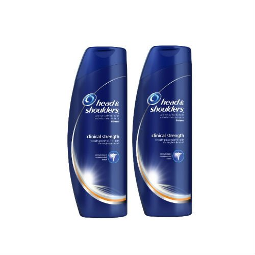 Head and Shoulders Clinical Strength Dandruff and Seborrheic Dermatitis Shampoo 13.5 Fl Oz (Pack of 2) (Head And Shoulders Men compare prices)