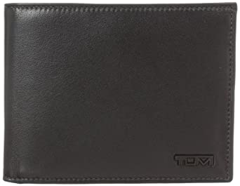 Tumi Men's Delta Global Coin Wallet, Black, One Size
