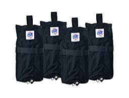 E-Z UP Instant Shelters Deluxe Weight Bags - Set of 4 Canopy Weight Bags