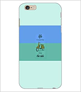 PrintDhaba Quote D-5942 Back Case Cover for APPLE IPHONE 6 PLUS (Multi-Coloured)