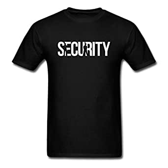 Men 39 s security bachelor party for custom for Amazon custom t shirts