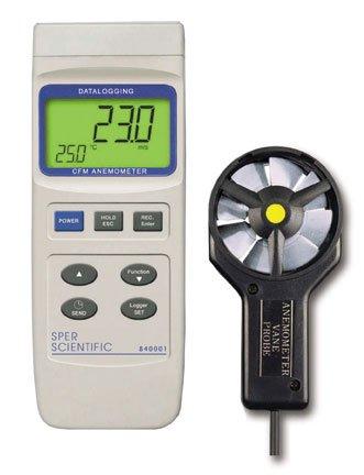 Datalogging CFM Anemometer by Sper Scientific