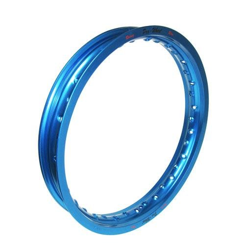 Pro-Wheel Rear Motorcycle Rim - 16x1.85 - Blue, Position: Rear, Color: Blue 16-YAMBL