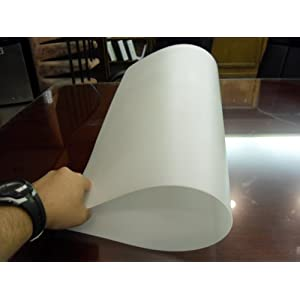 Thick Flexible Lightweight 25x23x1/16 Translucent Polyethylene Plastic