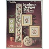 img - for Jacobean Designs Charted for Cross Stitch & Needlepoint Craft Book book / textbook / text book