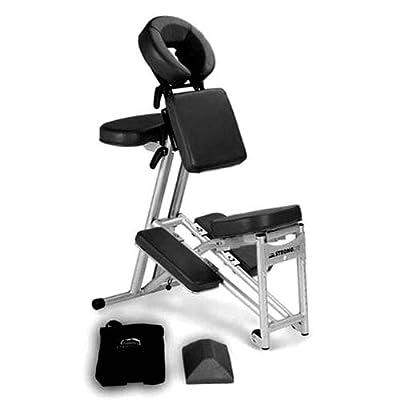 Stronglite ErgoPro Massage Chair + Curve Headrest - Black