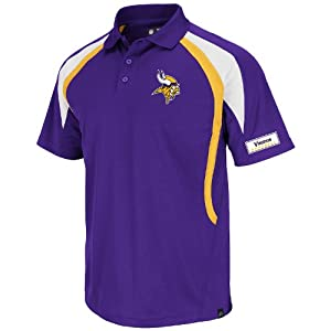 Minnesota Vikings Purple Field Classic VI Synthetic Polo by VF