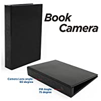 Conbrov® DV9 1080P Hidden Home Security Book Camera Night Vision Motion Activated Detection Video Recording Camcorder Hidden Spy Covert Nanny Cam Dvr 10000mah Battery Max 2 Year Long Standby