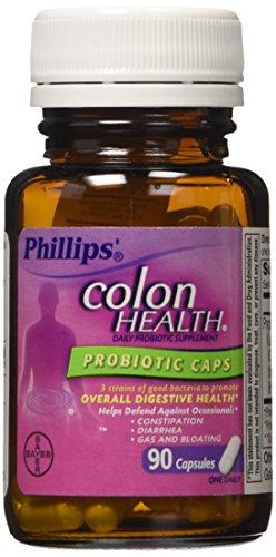 Phillips Colon Health Probiotic Supplement, 90 Count