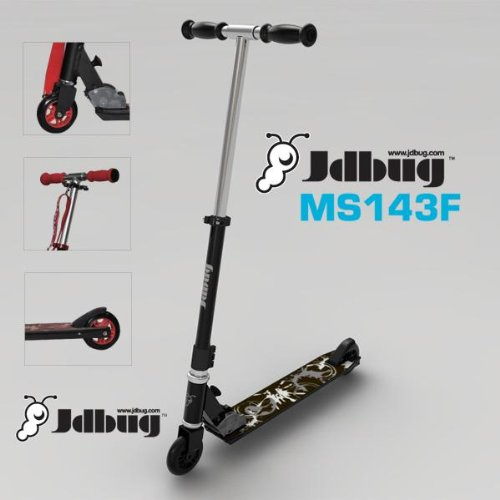 Jd Bug Folding Scooter - Red