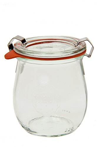 Weck 762 Jelly Jar - 1/5 Liter, Set of 6