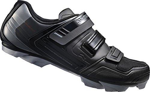 Shimano-E-SHXC31L-Unisex-Erwachsene-Radsportschuhe-Rennrad-Schwarz-Black-42-EU