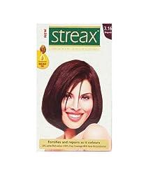 Streax Burgundy Hair Colour No.3.16, 50ml