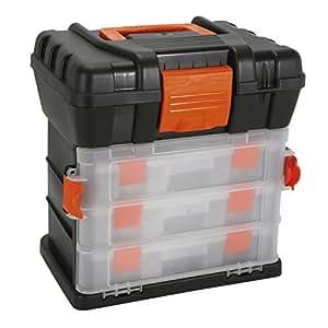 Cogex 72210 bo te outils organiseur de 3 tiroirs amazon - Liste outils bricolage ...