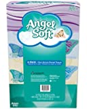 Angel Soft Facial Tissue, 4-Boxes, White, 165ct. each (Packaging May Vary)
