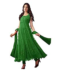 S.B CREATION Red Green Attractive Dresses(greenbraso111_freesize)