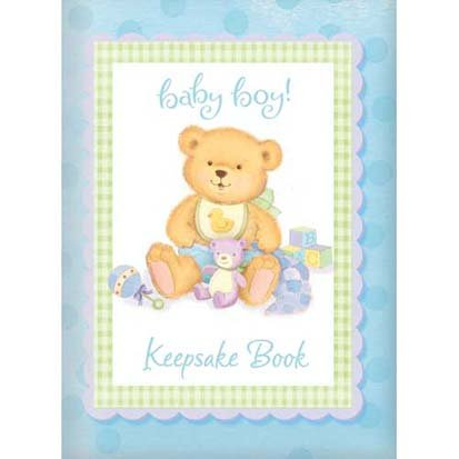 Precious Bear Blue Keepsake Book - 1