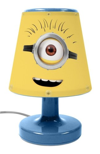 Discover Bargain Character Minions Movie 'Expressions' Bedside Light Lamp