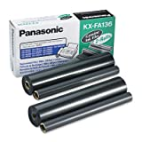 Panasonic Fax Machine Film Roll Refills for Panasonic, 2/Box (PANKXFA136) Category: Fax Machine Inks and Toner