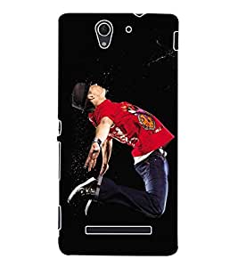 ColourCraft Dance Back Case Cover for SONY XPERIA C3 D2533