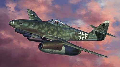 Hasegawa 1:32 - Messerschmitt Me262A KG51 - H-ST08215