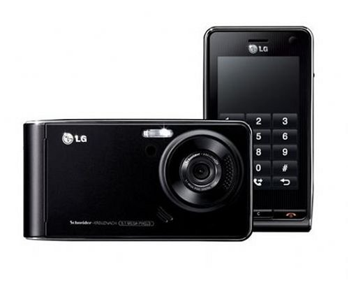 LG KU990 Unlocked Cell Phone with 5 MP Camera, 3G, MP3/Video Player, MicroSD Slot--International Version with Warranty (Black)