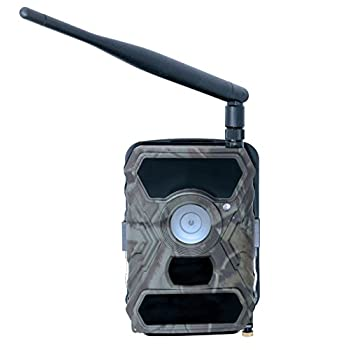 Wireless Trail Camera Commander 3G AT&T 1080p HD w/ viewing screen & AT&T SIM Card | Cellular trail camera 12 MP 56 LEDs | Best Cell Trail Camera by Snyper Hunting