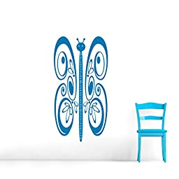 Butterfly Growth Chart - Wall Decals