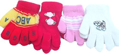 set-of-four-pairs-one-size-magic-stretch-gita-gloves-for-infants-ages-1-3-years