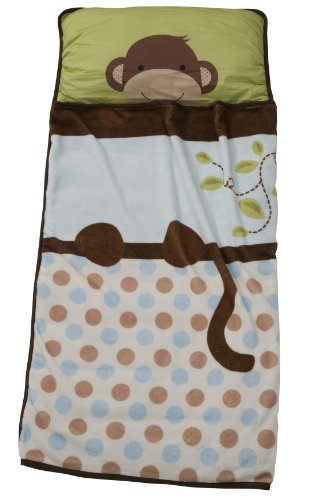 Lambs & Ivy Monkey Nap Mat (Brown)