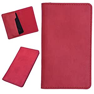 DCR Pu Leather case cover for HTC Desire 828 dual sim (red)
