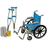 Journey Girls Wheel Chair and Crutch
