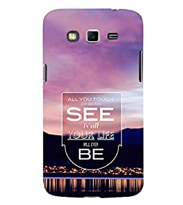EPICCASE all your life Mobile Back Case Cover For Samsung Galaxy Grand Neo Plus (Designer Case)