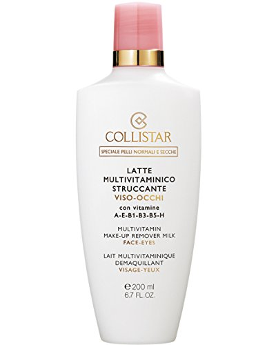 Collistar Multivitamin Make-Up Remover Milk Face-Eyes, Donna, 200 ml