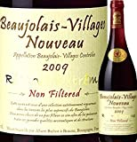 世界最大規模のワインコンクール[インター・ナショナル・ワインチェレンジ]で【レッド・ワイン・メーカーズ・オブ・ザ・イヤー】の栄冠を獲得した経歴を持つ、ブルゴーニュ・ワインビジネスの大御所が造る無濾過(ノンフィルター)ヌーヴォー!!アルベール・ビショー ボジョレー・ヴィラージュ・ヌーヴォー・ノンフィルター2009