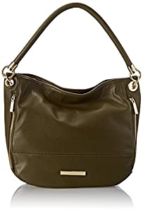 Anne Klein Military Luxe Hobo,Olive,One Size