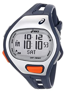 Asics Spm Training Blue/orange Digital Watch by Asics