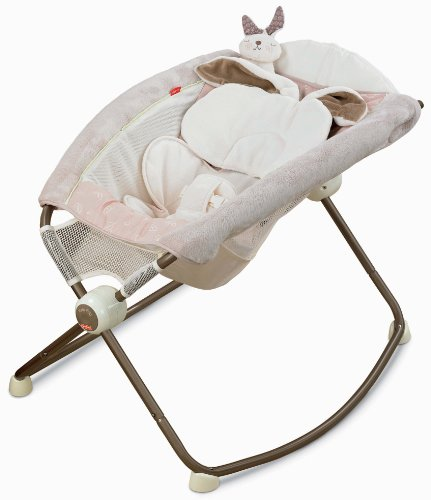 Fisher-Price Deluxe Newborn Rock 'N Play Sleeper, Snugabunny