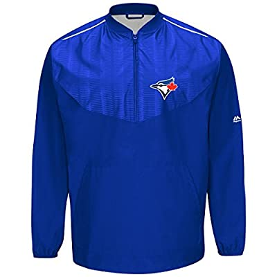 Toronto Blue Jays Majestic MLB Authentic Cool Base On-Field Training Jacket