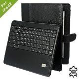 """Chesskin Leder Tasche mit Bluetooth-Tastatur (QWERTZ) f�r Apple iPad2 schwarzvon """"Chesskin"""""""