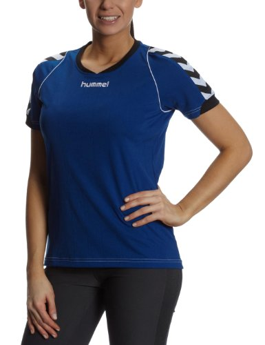 Hummel Damen Trikot BEE AUTHENTIC Short Sleeves JERSEY, true blue, XL, 03-911-7045_7045