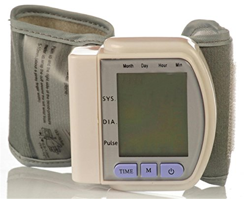 Tensiomètre électronique, poignet tensiomètre automatique mesurant la pression artérielle