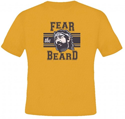 AlStyle Men's Chong Fear The Beard Stoner Weed Funny T-Shirt