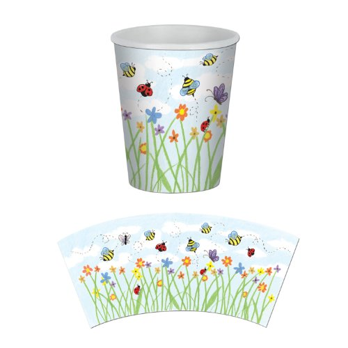 Garden Beverage Cups   (8/Pkg)