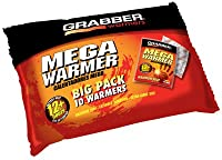 Grabber Mycoal 12+ Hour Warm Pack Pocket Warmer - 10 Pack by GRABBER