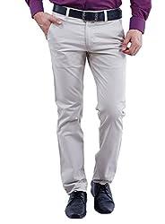 La MODE Men Casual Cotton(Streatchable) Trouser(LA02303_B70201-40)