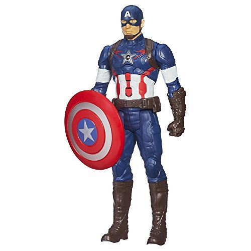 Marvel Avengers Age of Ultron Titan Hero Tech Captain America 12 Inch Figure by Marvel