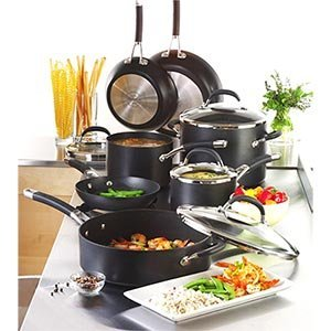 Circulon Premier Professional 11-Piece Hard Anodized Cookware Set